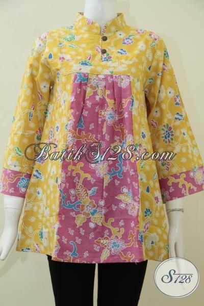 Baju Blus Batik Model Terbaru Tahun Ini Busana Batik Trendy