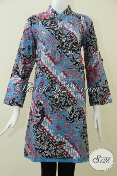 Jual Baju Blus Batik Trend Mode Terkini Pakaian Batik