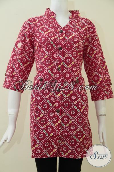Busana Batik Kwalitas Bagus Harga Terjangkau Baju Blus