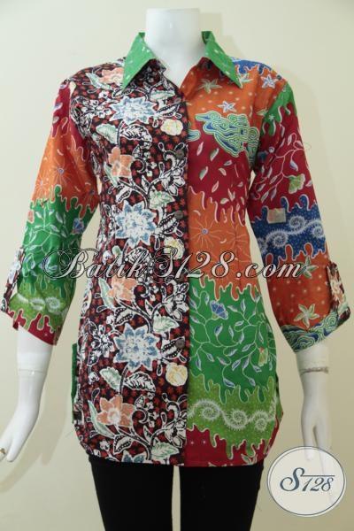 Model Baju Batik Terbaru Untuk Perempuan Muda Dan Dewasa 7aaec33986