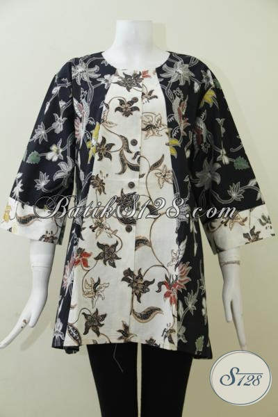 Blus Batik Size Jumbo Untuk Perempuan Berbadan Gemuk Baju