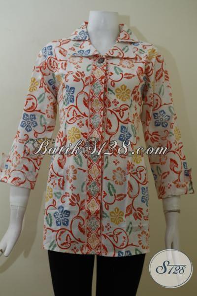 Grosir Eceran Aneka Pakaian Batik Wanita Terbaru Blus Batik Model