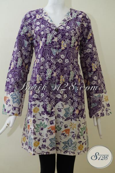 Sedia Blus Batik Exclusive Ukuran Jumbo Baju Batik Trendy