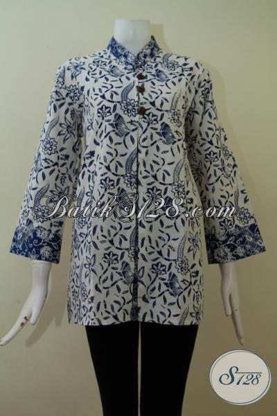 Model Baju Atasan Batik Untuk Wanita Gemuk 4f85795bc5