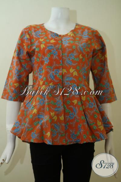 Pusat Batik Online Terlengkap Sedia Blus Batik Modern