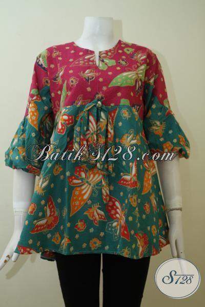Jual Pakaian Batik Wanita Online Baju Blus Batik Buatan Solo