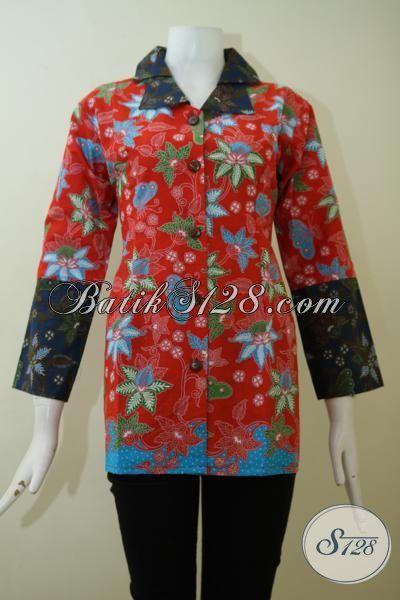 Blus Batik Mewah Model Paling Baru Tahun Ini Baju Batik Formal