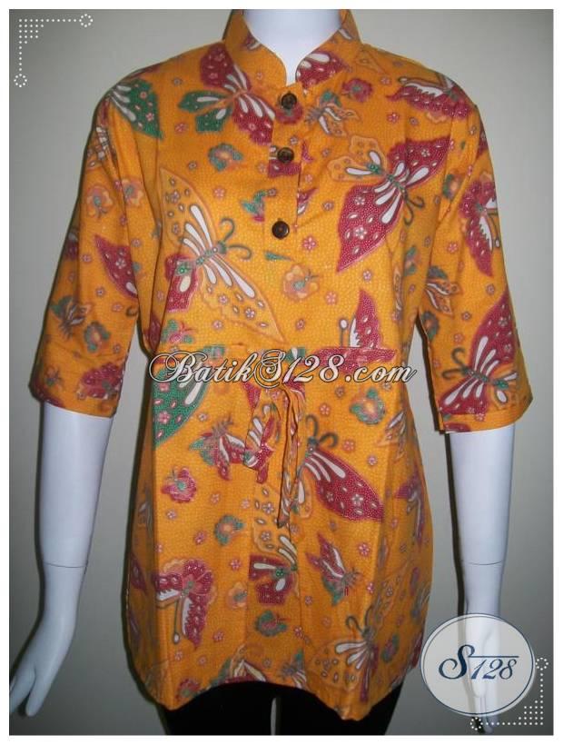 Baju Batik Wanita Kerja Kantor,Batik Kerja Dijual Di Toko Online [BLS244P-M]