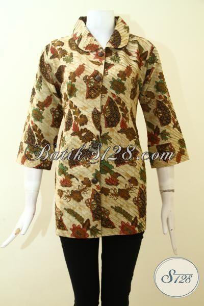 Jual Blus Batik Opnesel Motif Terbaru Trend Terkini Baju Batik