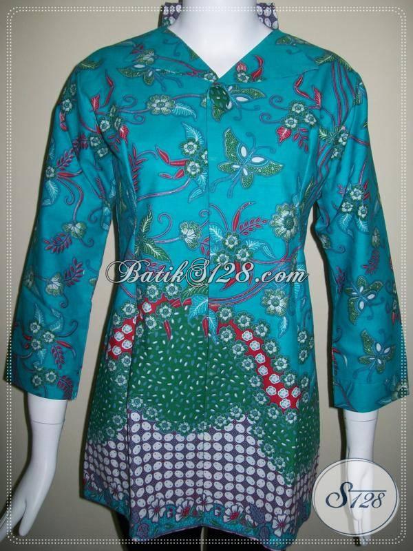 Toko Online Murah Untuk Baju-Baju Batik Kerja Wanita  BLS269  - Toko ... 01ccd1cf8e
