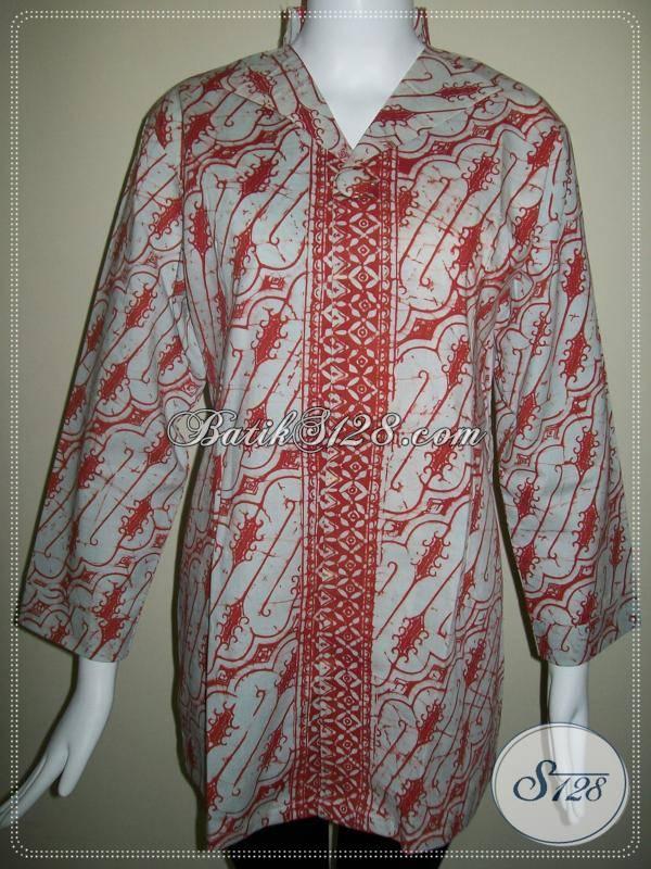 Blus Batik Kerja Wanita,Batik Elegant,Blus Batik Handmade Asli Batik Pengrajin Dari Solo [BLS270]