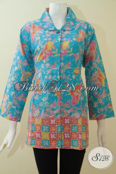 Baju Atasan Batik Untuk Wanita Tampil Modis Dan Keren Blus Batik
