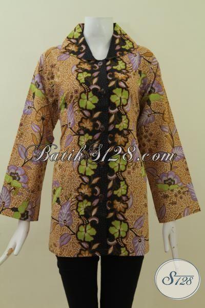 Jual Pakaian Batik Wanita Ukuran Jumbo Baju Blus Batik