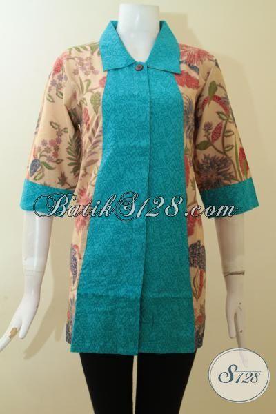 Trend Batik Printing Lasem Untuk Wanita Muda Dan Wanita Karir [BLS2790PL-L]
