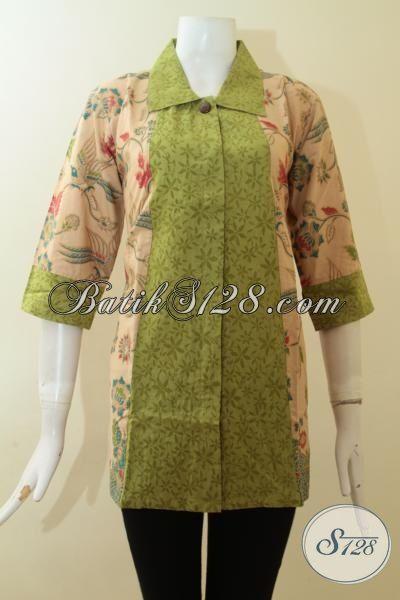 Blus Batik Elegan Dengan Motif Terbaik Dan Model Istimewa Baju
