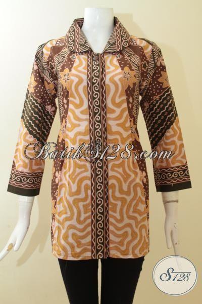 Trend Batik Klasik Proses Printing Baju Batik Elegan