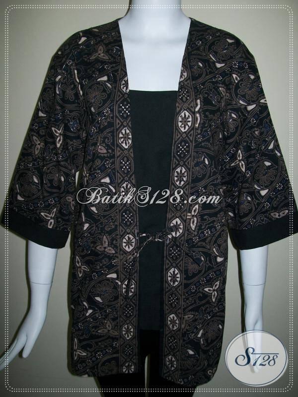 Baju Batik Berkwalitas Di Toko Aneka Jenis Batik Jawa [BLS296CT-XL]
