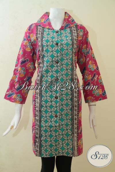 Jual Blus Batik Ukuran Jumbo Baju Batik Khusus Wanita
