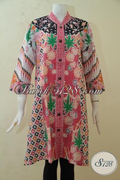 Seragam Kerja Batik Pegawai Wanita, Baju Batik Desain ...