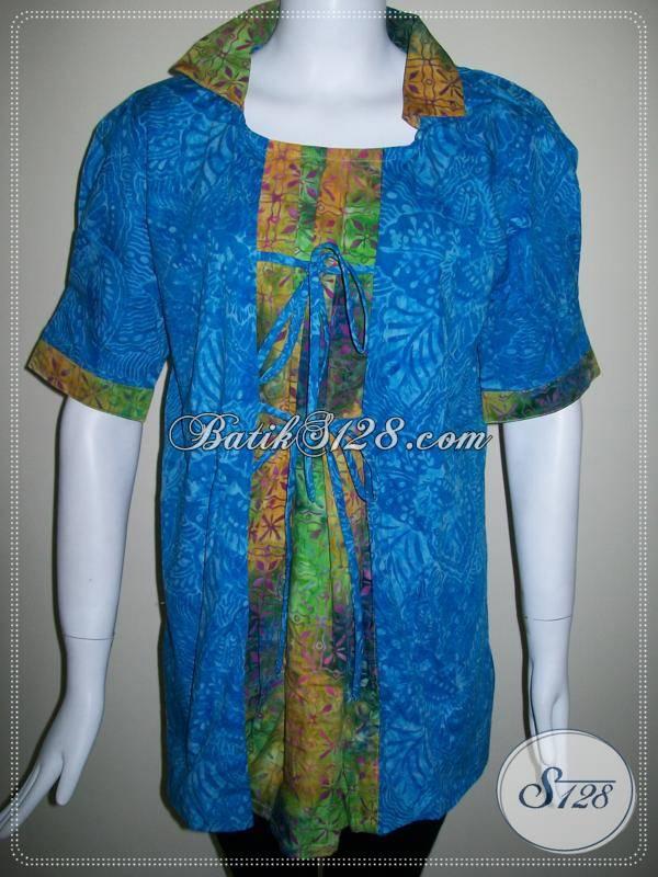 Baju Batik Model Dua Warna Asli Batik Dari Solo Batik