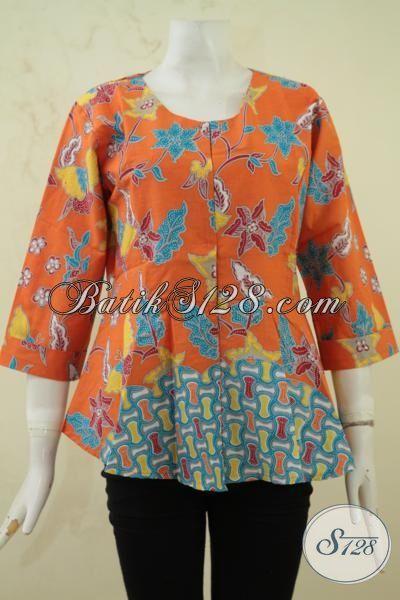 Pakaian Batik Remaja Putri Baju Batik Solo Desain Masa Kini