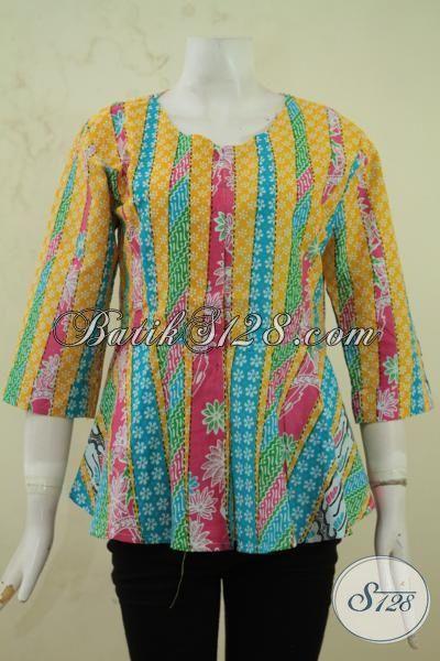 Blus Batik Remaja Putri Masa Kini Pakaian Batik Untuk
