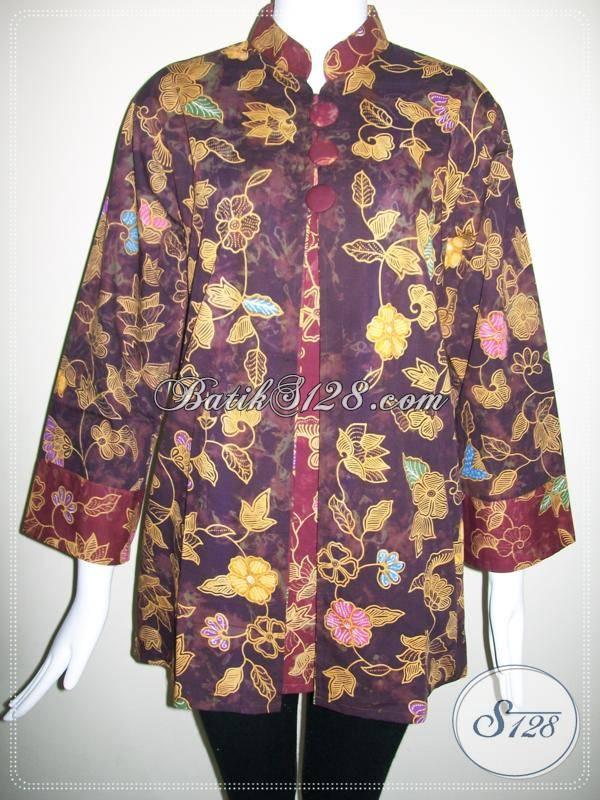 Busana Batik Wanita Kerja,Baju Batik Ukuran Besar Di Toko Online Batik ...