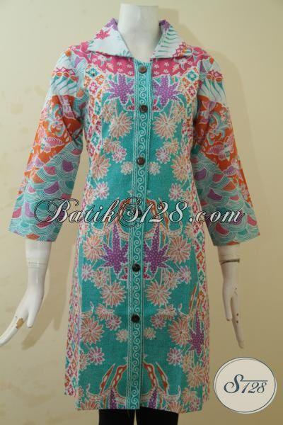 Pusat Baju Batik Online Jual Pakaian Kerja Cewek Model Terbaru Proses Print, Busana Trendy Dengan Warna Berkelas Tampil Makin Mempesona, Size M – XXL