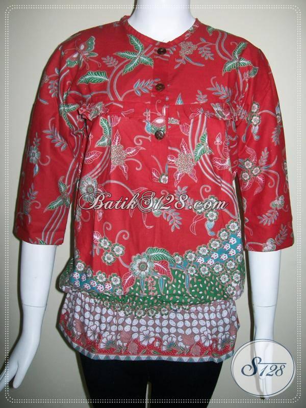 Toko Batik Solo Sedia Aneka Busana Batik Untuk Perempuan Dengan Desain Serta Motif Trend Terkini, Pakaian Batik Berkwalitas Bagus Dengan Harga Yang Sangat Terjangkau, Size S