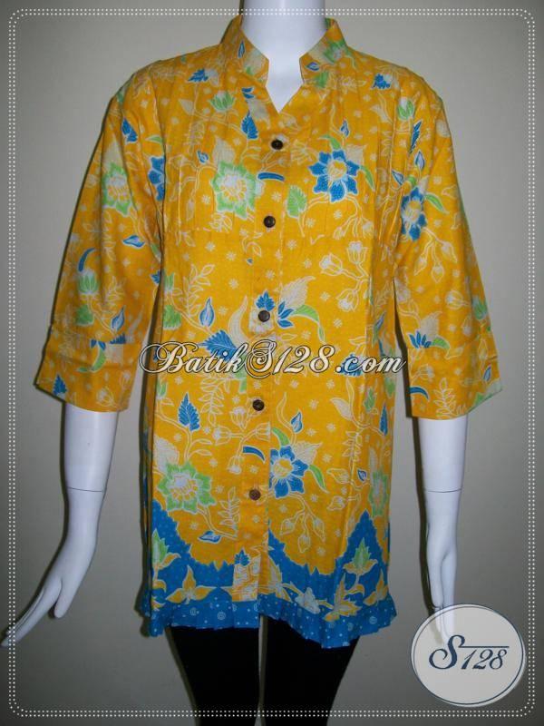 Butik Baju Batik Murah di Kota Batik Solo,Batik Asli Dari Pengrajin Batik [BLS353P-M]