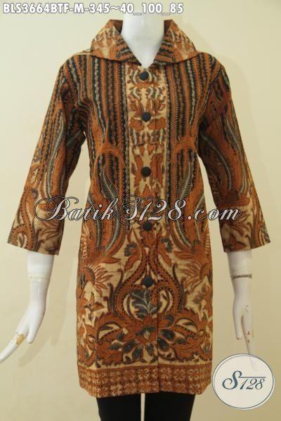 Blus Batik Istimewa Motif Klasik