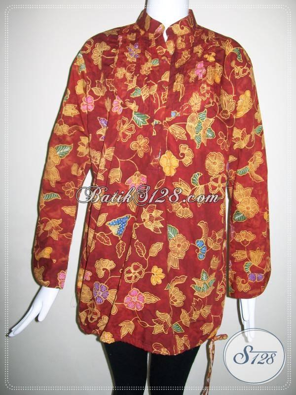 Toko Aneka Model Dan Motif Batik,Aneka Model Baju Batik Solo [BLS370CT-XL]