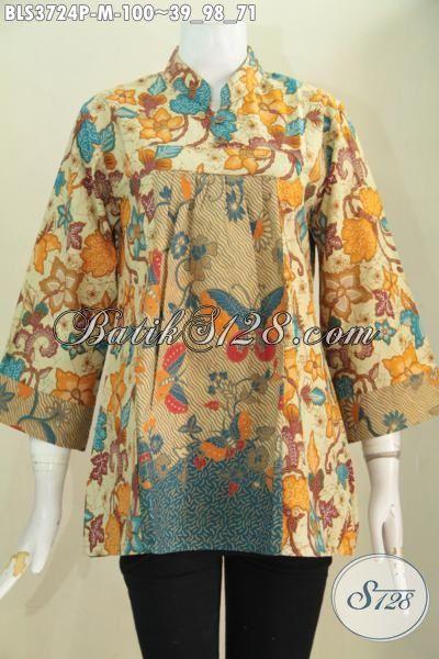 Busana Batik Wanita Terbaru Model Bagus Motif Elegan Baju
