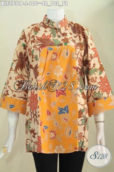 Trend Baju Batik Jawa Terbaru, Blus Batik Keren Motif Modern Desain Mewah Harga Murah, Baju Batik Printing Solo Tampil Gaya Selalu, Di Jual Online