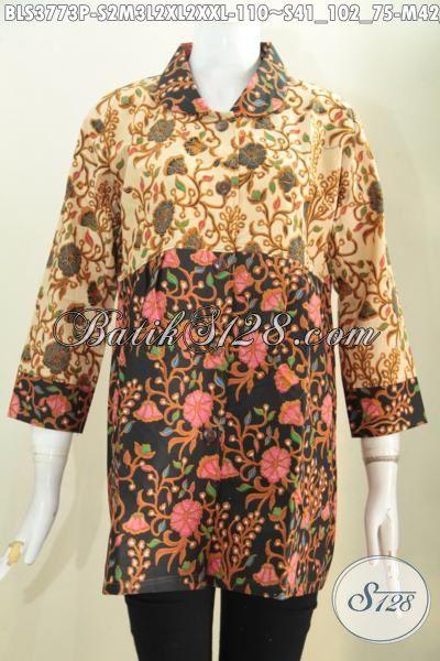 Baju Batik Perempuan Masa Kini Busana Batik Trendy Dua