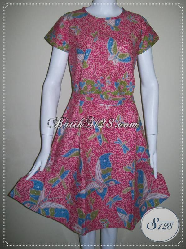 ... Model Dress Dengan Kombinasi Warna Dan Motif Menarik Koleksi 2013