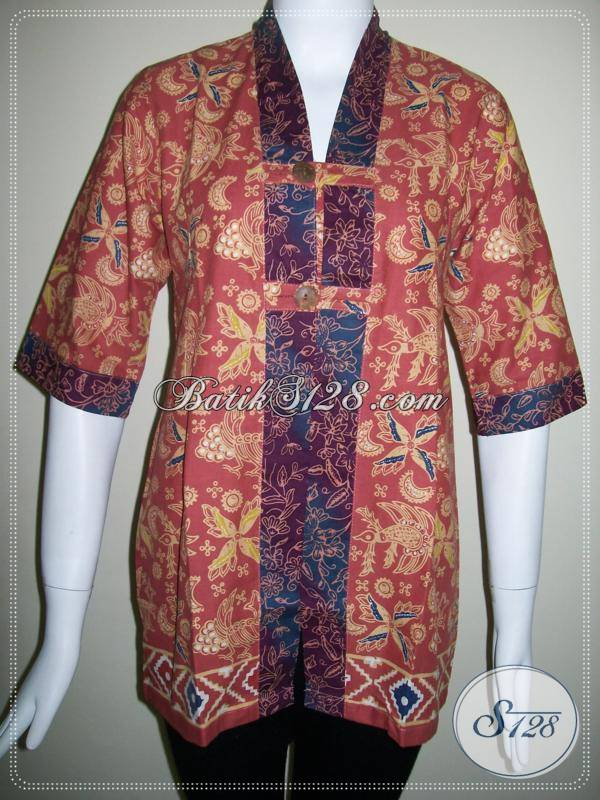 Pakaian Batik Wanita Trendy,Modern Dan Aktif