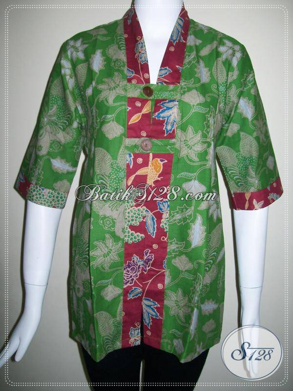 Butik BAtik Cantik,Toko Batik Unik,Toko Blus Batik Cantik [BLS402P-M]