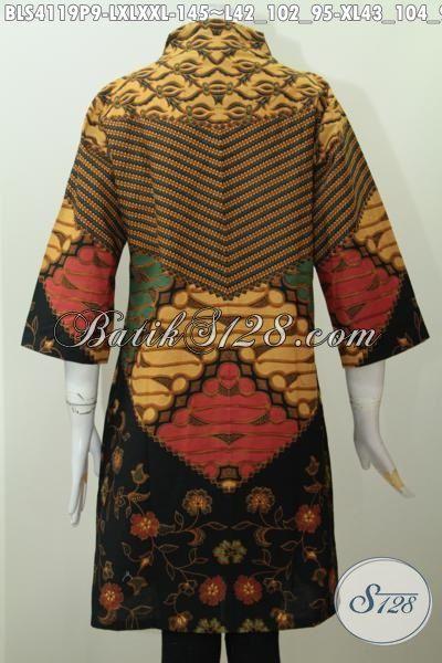 Baju Batik Halus Kwalitas Bagus Proses Printing Motif