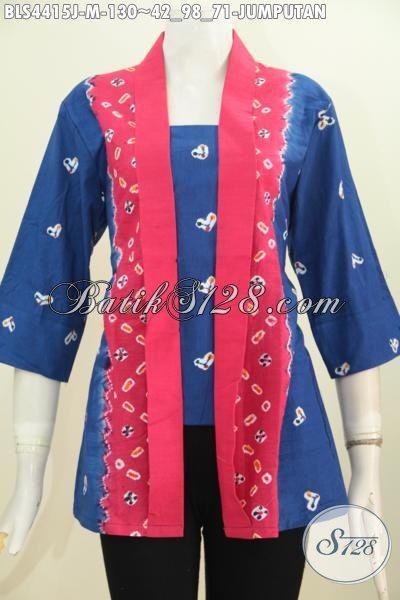 Batik Motif Jumputan Keren Baju Batik