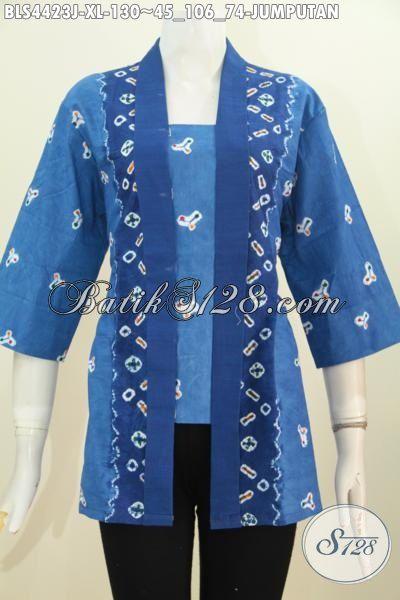 Motif Jumputan Model Kutu Baru Baju Batik