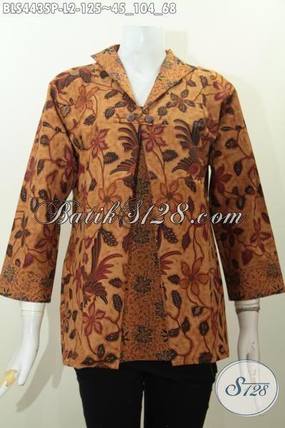 Baju Batik Elegan Model Jas Motif Trenddy Warna Klasik Busana Batik