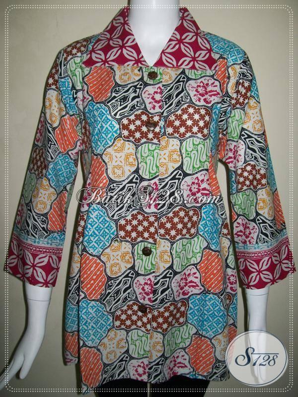 Baju Batik Wanita Exclusive Blus Batik Exclusive Motif