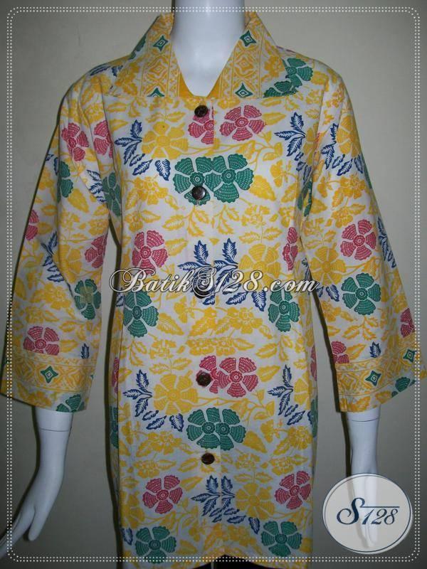 Toko Online Blus Batik Murah Wanita Kantor c1d96e9637