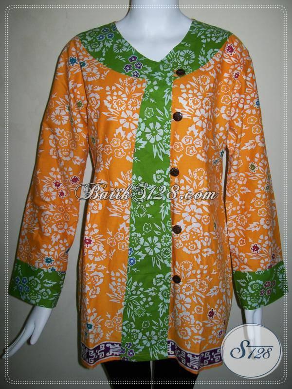 Blus Batik Wanita Terbaru 2013