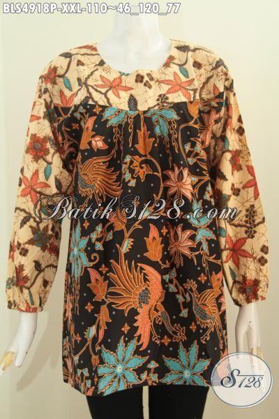 Baju Blus ELegan Spesial Untuk Wanita Gemuk Produk Baju Batik