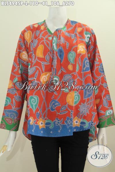 Produk Baju Batik Fashion Wanita Muda Dan Dewasa, Berbahan Halus Proses Printing Untuk Tampil Gaya Dan Mempesona Dengan Harga 100 Ribuan