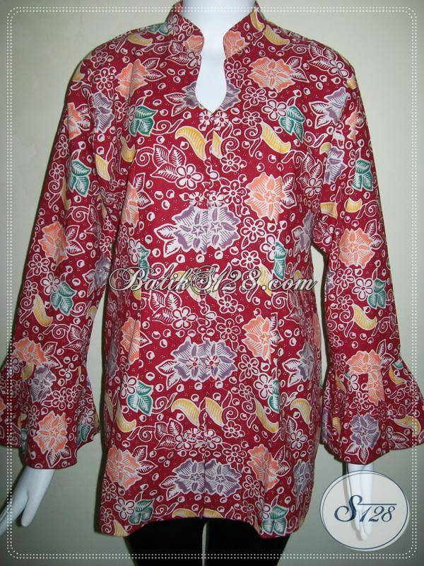 Blus Batik Wanita Terbaru, Trendy dan Elegan