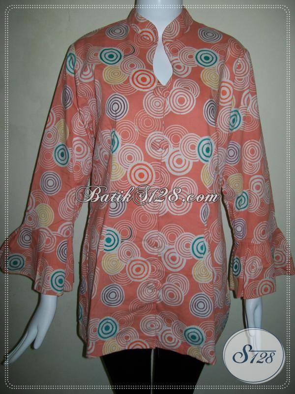 Blus Batik Wanita Lengan Panjang Murah  Baju Batik Modern 2018