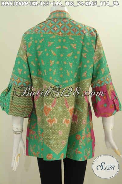 Toko Baju Batik Online Desain Mewah Lengan Balon Pakaian